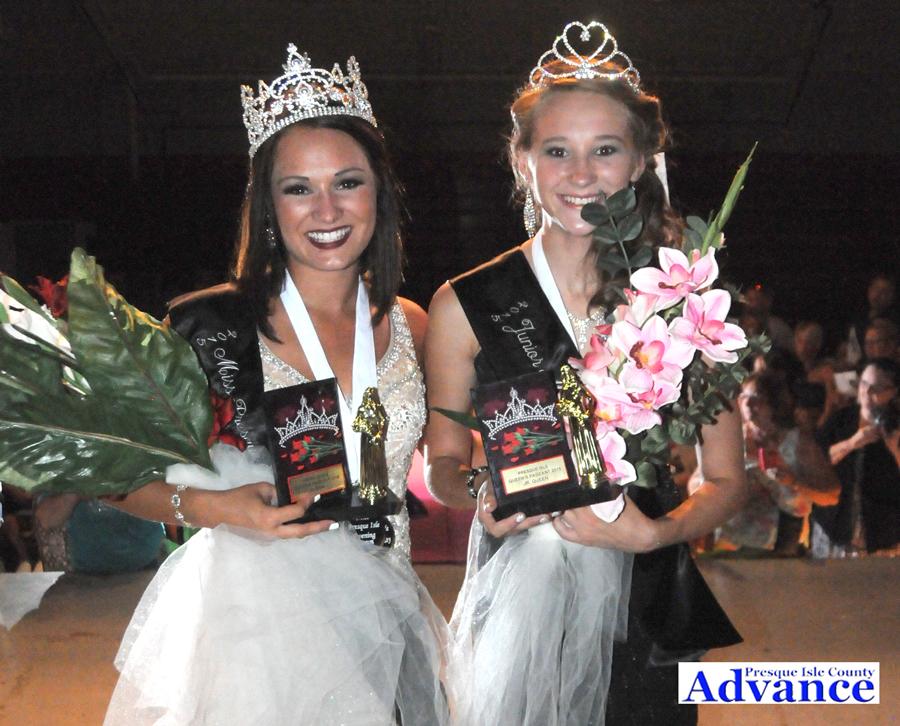 Smillie fair queen; Smith junior fair queen   Presque Isle County ...