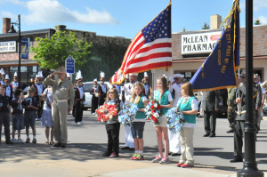 A brief ceremony honored the dead at the Presque Isle County Courthouse on Memorial Day in Rogers City.