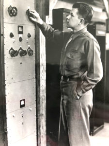 Harvey Klann served his country in World War II.