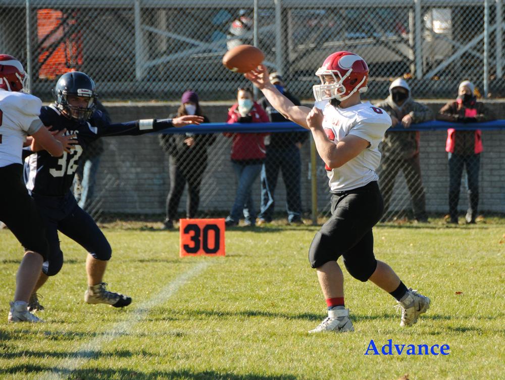 Viking quarterback Chase Dubie.